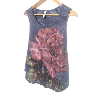 Project Social T rose tank top